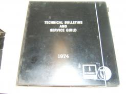 1974 tech bulletins