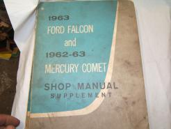 63 falcon service manual supplement