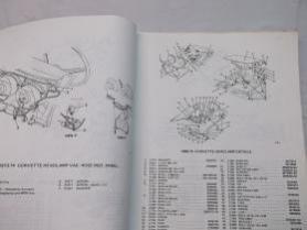 1973 corvette parts book