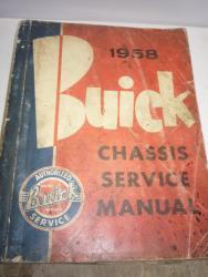 1958 Buick shop manual