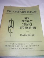 1968 Oldsmobile new product info