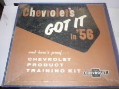 1956 Chevrolet product training kit