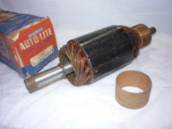 1948 1949 1950 1951 Chrysler Desoto Dodge Plymouth Packard NOS generator armature + parts # ggw-2006-f