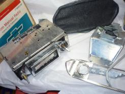 1965 Chevrolet nova NOS AM radio