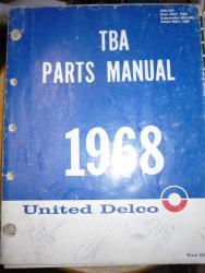 1968 tba manual