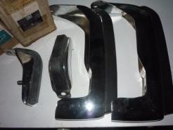 1973 chevelle bumper guards 994370 994371