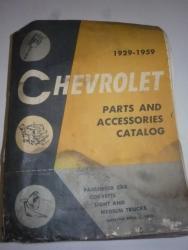 1959 Chev parts book