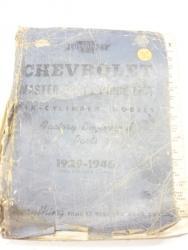 1946 Chevrolet parts book