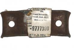 1967 1968 1969 Pontiac Firebird NOS rear muffler bracket # 9777300