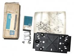 1984 85 86 87 88 89 1990 Pontiac Firebird NOS front license plate bracket kit # 497801