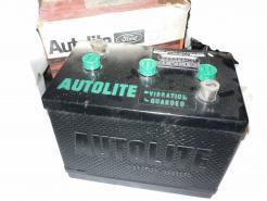 autolite 6 v group 3 truck battery vintage