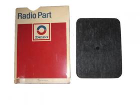1950's thru 2010 Buick Cadillac Chevrolet Oldsmoblie Pontiac NOS radio speaker cover mesh  # 1222316
