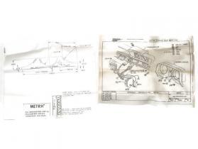1982 83 84 85 86 87 Chevette NOS dash clock accessory kit # 997876