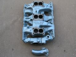 1966 Pontiac GTO tripower intake manifold & water neck #p66tim