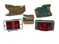 New automotive truck or trailer red rear side marker lamps # al478rp