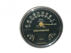 1945 thru 1956 Graymarine tachometer gauge cluster # 4556gmg
